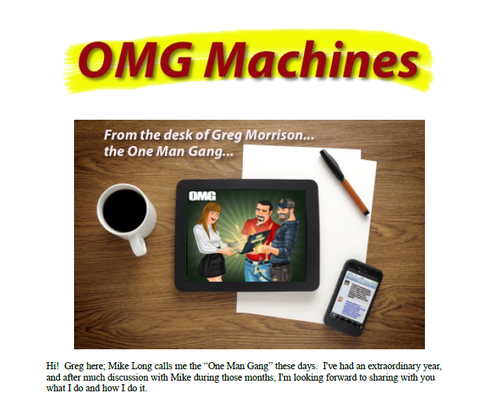 OMG Machines Review